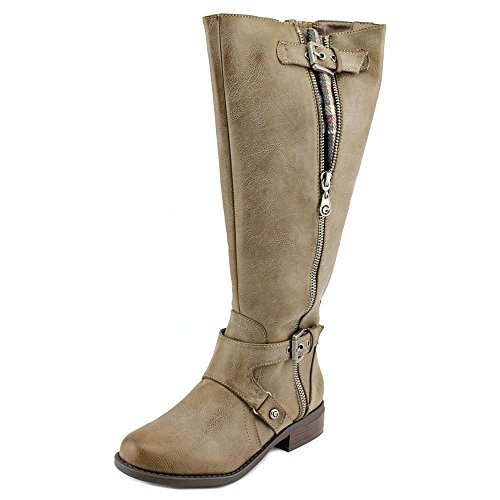 G by Guess Women's Hertle Tall Shaft Wide Calf Riding Boots