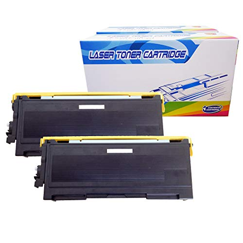 (Inktoneram Compatible Toner Cartridges Replacement for Brother TN350 TN-350 DCP-7020 IntelliFax 2820 2910 2920 MFC-7220 MFC-7225N MFC-7820N MFC-7420 HL-2030 HL-2040 HL-2070N (Black, 2-Pack))