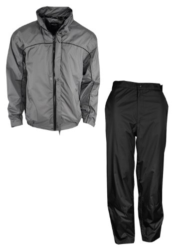 Ray Cook Golf C-Tech Waterproof Rain Suit Charcoal Gray