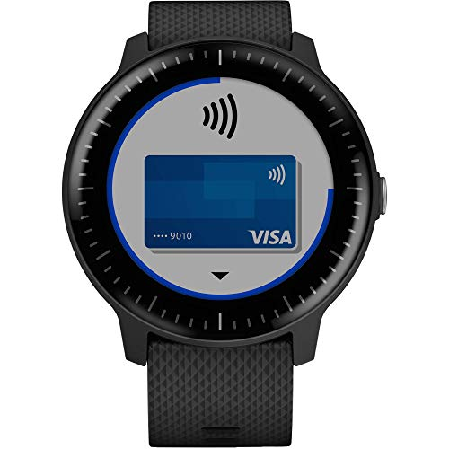 Garmin Vivoactive 3 Music - GPS Smart Watch with Music Storage & Playback - Bundle with Tempered Glass Screen Protector + 1 Year Extended Warranty by Garmin (Image #1)