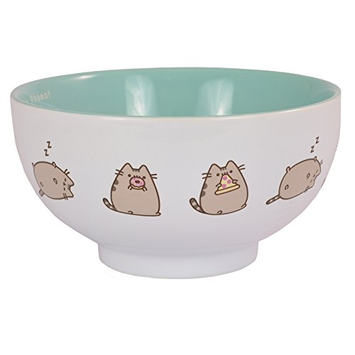 Pusheen Ceramic Bowl - ''Eat, Sleep, Repeat'' - Branded Kitchen Gift by Xpressions