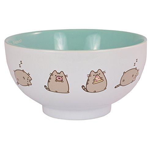 Pusheen Ceramic Bowl - ''Eat, Sleep, Repeat'' - Branded Kitchen Gift