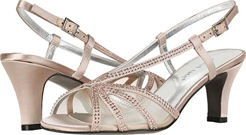 David Tate Women's Refined Champagne 9 D US