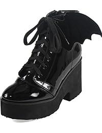 Shoe Iron Fist Misfits Negro (Eu 40 / Us 7 , Negro)
