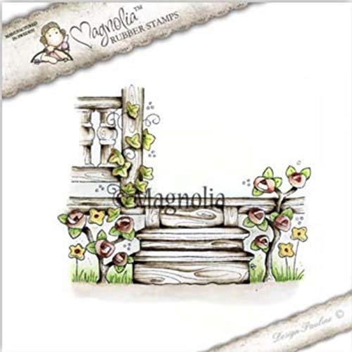 Flower Girl Tilda Magnolia Stamps I Believe In Unicorns 2017