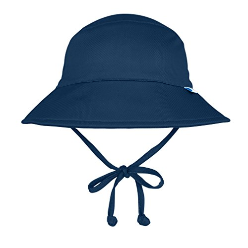 i play. Kids' Baby Boys Breatheasy Bucket Sun Protection Hat, Navy, 0/6mo