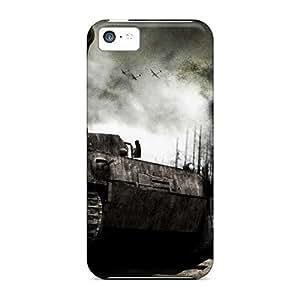 New Design Shatterproof TSS318NzgC Case For Iphone 5c (panzer Tank)