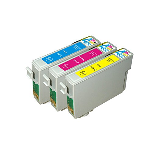3 Pack - Remanufactured Ink Cartridges for Epson #69 T069 69 T069220 T069320 T069420 Inkjet Cartridge Compatible With Epson Stylus C120 Stylus CX5000 Stylus CX6000 Stylus CX7000F Stylus CX7400 Stylus CX7450 Stylus CX8400 Stylus CX9400Fax Stylus CX9475Fax