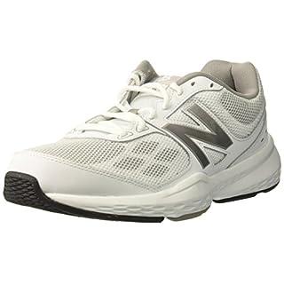 New Balance Men's 517V1 Cross-Trainer-Shoes, White/Gray, 11 4E US
