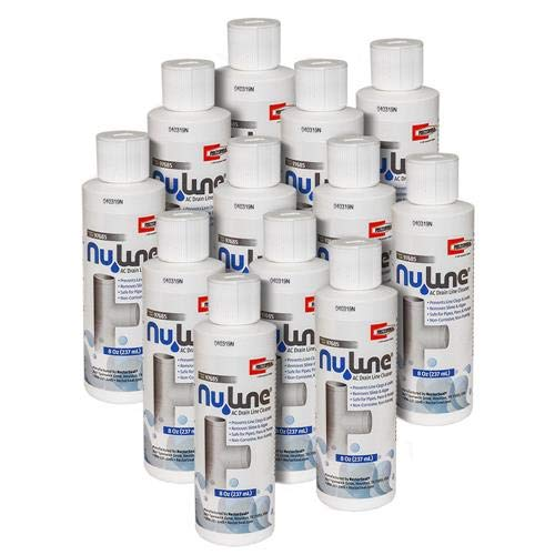 (12)-Pack, Nu-Line Drain Cleaner, 8 Ounce Bottles