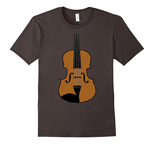 String Bass Costume (Mens Violin Costume Shirt Bowed Strings Orchestra Tune Music XL Asphalt)