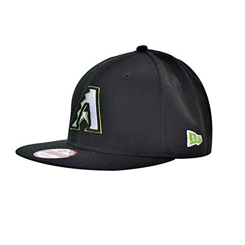 New Era Arizona Diamond Backs Men's Snapback Hat Cap Black/White 70345067 (Size - Exclusive Caps Snapback