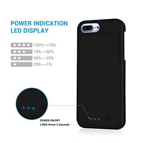 iphone 7 plus battery case maxnon portable charger cases import it all. Black Bedroom Furniture Sets. Home Design Ideas
