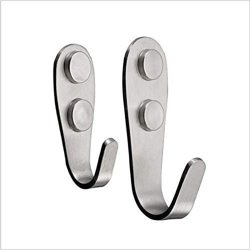 FANGZI 6PCS Suction Hooks Reusable Non-Mark Waterproof Wall Hooks Hangers for Coats Scarfs Towels Bags Keys in Bathroom Kitchen Office