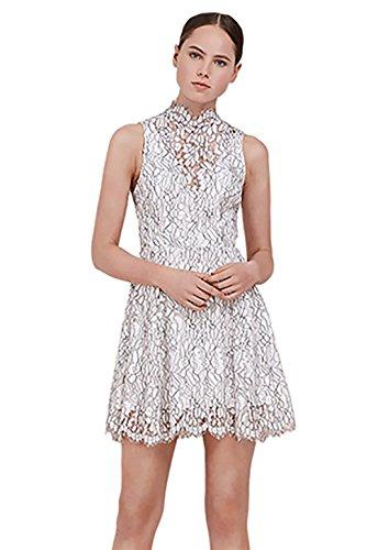 Keepsake Porcelain Lace Dress in Ivory (Medium)