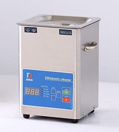 Ultrasonic Cleaner (2 5L) with Stainless Steel Basket 2 5 Liter Tank, 200W  Heater for Medical,