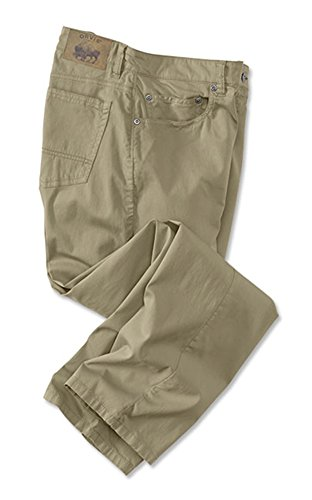 Orvis Men's 1856 5-Pocket Bedford Cords, Khaki, 34, Inseam: 32 Inch ()