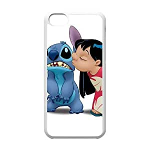 iphone5c case(TPU), Lilo and Stitch Cell phone case White for iphone5c - HHKL3336772