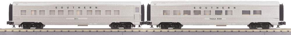 MTH 30-68063 Southern 2-Car 60フィート 流線型スリーパー/ダイナー B07N6MWCNL