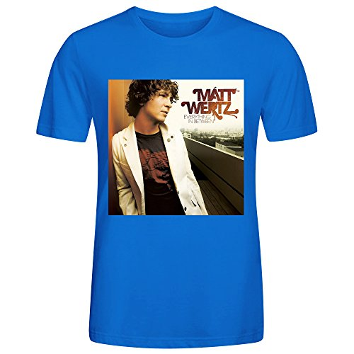 Matt Wertz Everything In Between Men T Shirts - Camino Rio North Del
