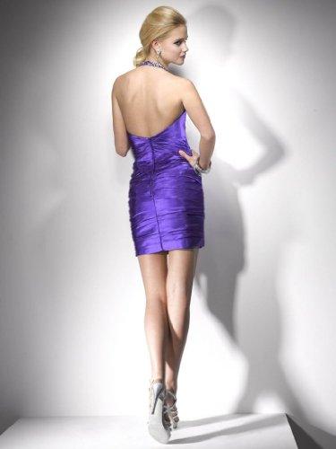 GEORGE Rosa BRIDE Ballkleid Traeger charmante Abendkleid Neckholder CBrTCq