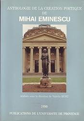 Anthologie de la creation poetique de Mihai Eminescu (French Edition)