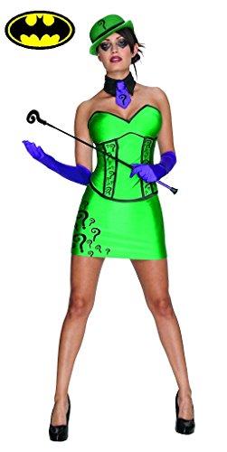 The Riddler Adult Costume - Anti Hero - Villain - Female Size: Large Green]()
