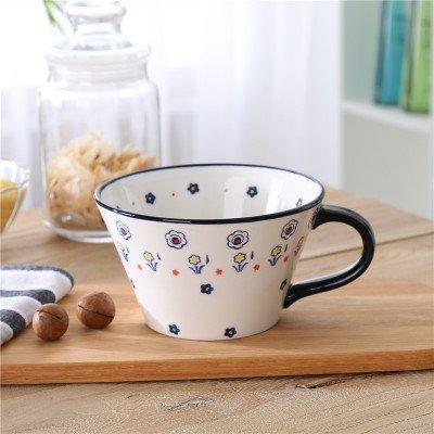 KPHY-Europeo de gran pintada a mano de ceramica vidriada, con color, marca