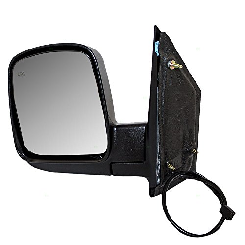 Drivers Power Side View Mirror Heated Replacement for Chevrolet GMC Van 15937984 AutoAndArt