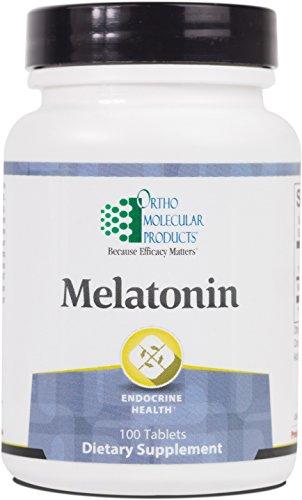 Ortho moléculaire - mélatonine - 100 comprimés