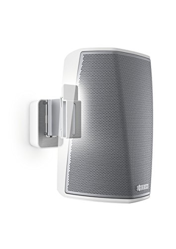 Vogel's Speaker Wall Mount for Denon HEOS - SOUND 5201 W for HEOS 1, White (single mount)