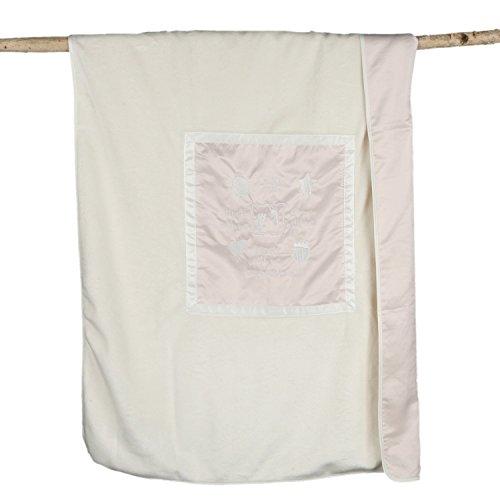 Barefoot Dreams Signature Plush Receiving Blanket (Cream) Signature Plush Receiving Blanket