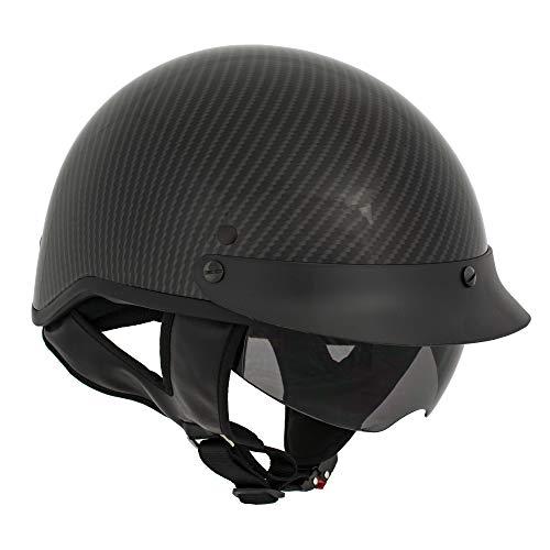 Milwaukee Performance Helmets Men's Size half helmet SHINNY BLACK 2XL