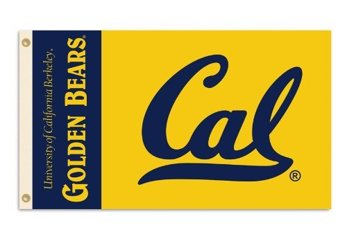 NCAA California Golden Bears 3-by-5 Foot Flag With Grommets