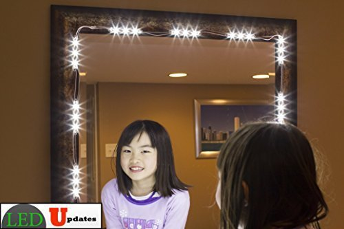 MAKE UP MIRROR LED LIGHT for VANITY MIRROR and UL power supp