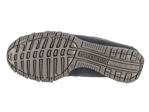 Skechers Women's Bikers - Hyphen Slip-On Shoe Navy HKKJV1ptU1