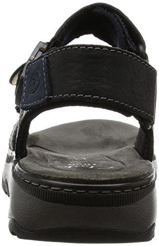 Sandalo Uomo Nero da Raffe Clarks Leather Black Sun xgvzEZ4w