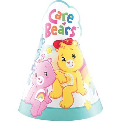 Care Bears Party Cone Hats