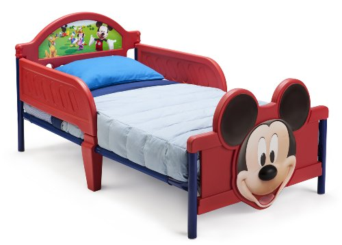 Delta Children's Products Mickey Mouse 3D Toddler Bed