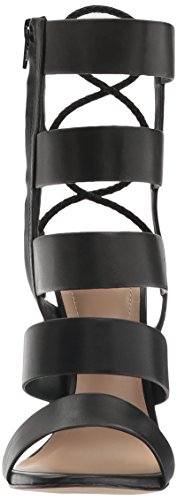 Aldo Womens Hawaii Gladiateur Sandale Noir Synthétique
