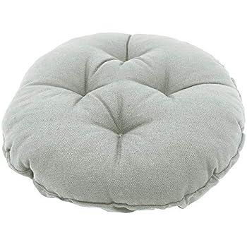 Amazon Com Sigmat Bar Stool Cushion Round Tufted Stool
