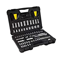 Deals on Stanley STMT81271WMT 105-Pcs Chrome Mechanics Set