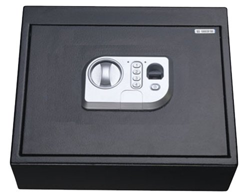 Stack-On PS-15-05-B Biometric Drawer Safe, Black