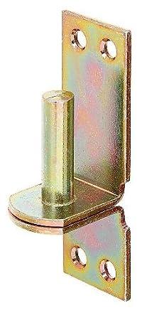 /Ø13 mm 100 x 35 mm // 1 St/ück GAH-Alberts 311407 Kloben auf Platte DII-Haken feuerverzinkt