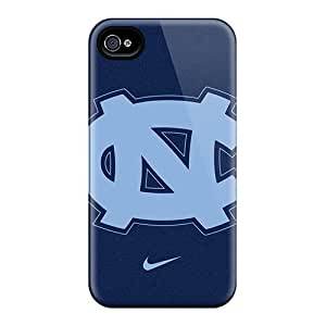 Pretty Kud3153TfmI Iphone 4/4s Case Cover/ University Of North Carolina Tar Heels Series High Quality Case
