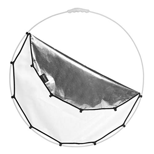 Lastolite Halo Compact Reflector Cover, 32'', Silver/White (Replacement Fabric, Frame not Included)