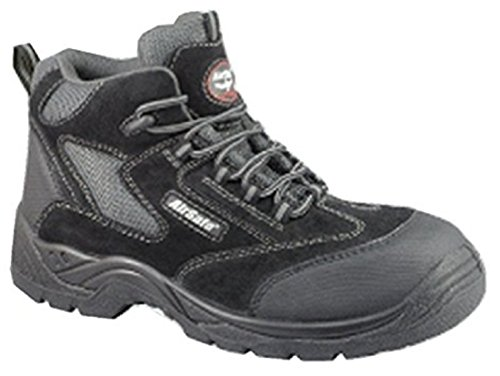 Black Puntera Kevlar Non c5 Botas As Seguridad Cordones Airsafe De metal TwXAw5