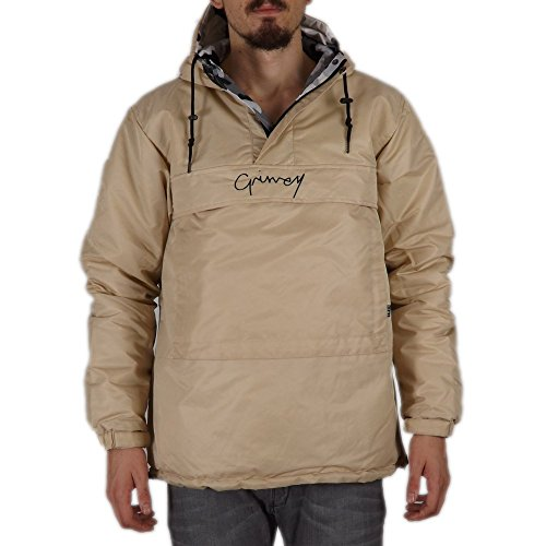 DOUBLE Colores SAND FACE ANORAK Varios FW17 GRIMEY REVERSIBLE 80ExPH