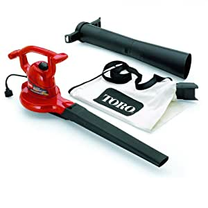 Toro 51599 Ultra 12 amp Variable-Speed Electric Blower/Vacuum with Metal Impeller (Older Model)