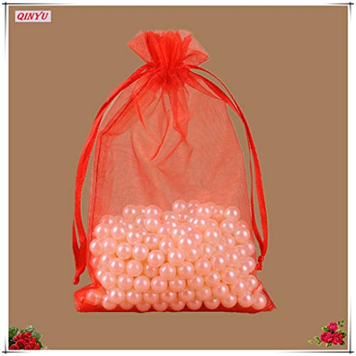 50Pcs Organza Bags Wedding Gift Bags 7X9 Small Jewelry for sale  Delivered anywhere in USA